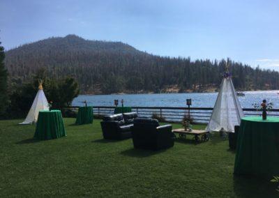"""""""Happy Campers"""" Wedding Reception"""